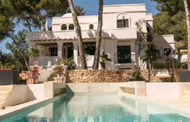 Seaview villa with a separate apartment, on a plot with a pool, surrounded by woods, close to the beaches, San Jose, Ibiza, Spain for 11,000 € per week