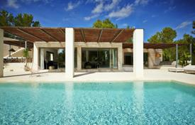 Modern furnished villa with a large plot in San Jose, Ibiza, Spain for 8,600 € per week