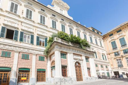 1 bedroom apartments for sale in Italy. Renovated apartment in a historic building Palazzi dei Rolli, Meridian area, 400 meters from the sea, Genoa, Liguria, Italy