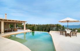 Luxury houses with pools for sale in Peloponnese. Villa – Porto Cheli, Administration of the Peloponnese, Western Greece and the Ionian Islands, Greece