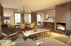 Residential for sale in Auvergne-Rhône-Alpes. Duplex apartment with a terrace, in a new residence, next to the ski lift, in the center of the resort of Chamonix, Alpes, France