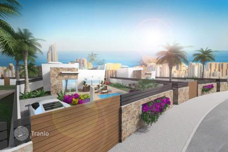 Cheap development land for sale in Finestrat. Plot with sea views from the villa project, Finestrat, Spain
