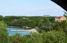 Development land for sale in Dubrovnik Neretva County. Two development land plots overlooking the sea, Loviste, Croatia
