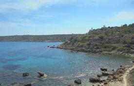 Coastal development land for sale in Famagusta. Plot of land in Cape Greco