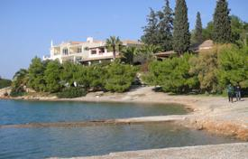 Luxury 6 bedroom houses for sale in Administration of the Peloponnese, Western Greece and the Ionian Islands. Four-storey villa in the first sea line in the Peloponnese