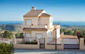 Cheap 3 bedroom houses for sale in Spain. Villa with sea views in Aigues, Alicante