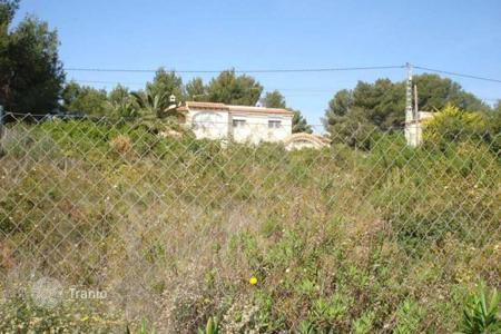 Cheap development land for sale in Benissa. Development land – Benissa, Valencia, Spain