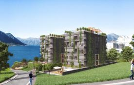 New homes for sale in Kindness. Apartments in a premium residential estate under construction, 200 meters from the sea, Dobrota village, Montenegro