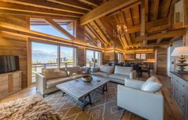 Penthouse with a balcony, in a new residence with a swimming pool, next to the ski slopes of the popular resort, Valais, Switzerland for 1,850,000 €