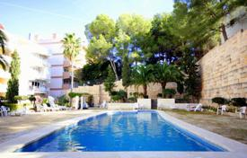 1 bedroom apartments for sale in Balearic Islands. Apartment with a terrace and a sea view in a residential complex with a swimming pool, Santa Ponsa, Spain