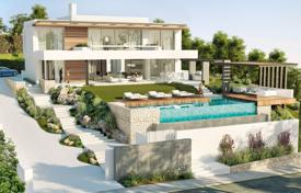 4 bedroom houses for sale in Malaga. Exceptional Brand New Modern Villa in Capanes Sur/Condes de Luque, Benahavis (project)