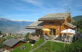 5 bedroom villas and houses to rent in Central Europe. Detached house – Nendaz, Valais, Switzerland