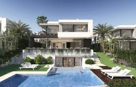 Property for sale in Atalaya Isdabe. New villa with a terrace, a swimming pool, a garden, a garage and a sea view, Atalaya, Spain