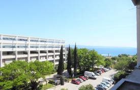 3 bedroom apartments for sale in Split-Dalmatia County. Apartment with a terrace and a sea view in a residential complex with a garage, elevators and shops, Split, Croatia