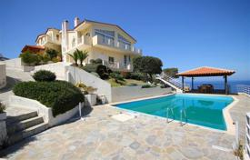 Magnificent villa with a pool near the beach, Heraklion, Crete, Greece. Price on request