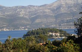 Coastal development land for sale in Croatia. Development land with a sea view, Korcula, Croatia