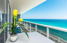 Bright apartment with ocean views in a residence on the first line of the beach, Hallandale Beach, Florida, USA for $1,099,000