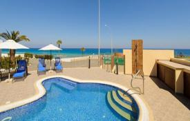 Luxury houses for sale in Protaras. Four Bedroom Sea Front Detached Villa with Pool