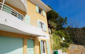 Cheap houses for sale in France. Three-storey villa with a private garden, a spacious terrace and sea views, Eze, France