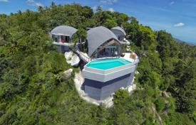 Coastal buy-to-let apartments in Surat Thani. Villa near Chaweng Noi, with a terrace, an infinity pool and stunning sea views, Samui, Thailand