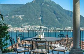 Luxury apartments for sale in Italy. Panoramic villa in the classical style close to Lake Como
