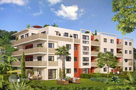 1 bedroom apartments for sale in Roquebrune - Cap Martin. Modern in a new residential complex just 5 minutes from the beach in Roquebrune Cap Martin, Côte d'Azur, France