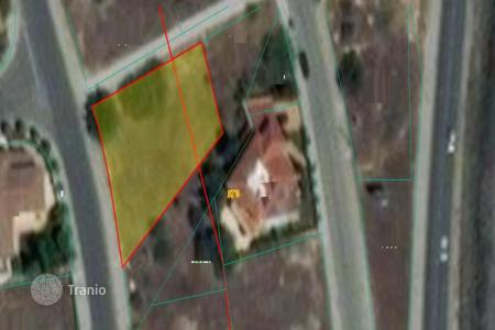 Development land for sale in Nicosia. 630m² Residential Plot in Strovolos — Near Shopping area