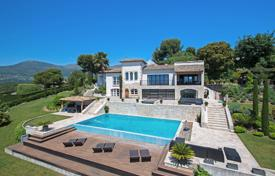 Close to Saint-Paul de Vence — Panoramic sea view for 4,300,000 €