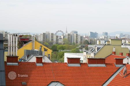 New home from developers for sale in Europe. Penthouse with three terraces on the roof in the 22nd district of Vienna