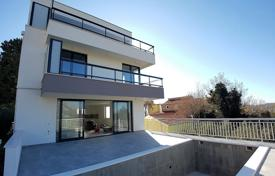 New villa with a private garden, a pool, a garage, terraces and sea views, Brela, Croatia for 880,000 €