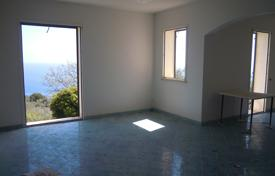 Off-plan residential for sale in Southern Europe. House under construction with a garden and a sea view, Tricase, Italy