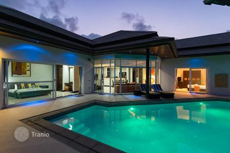 Residential for sale in Thailand. Tropical villa with pool and garden in Choeng Mon, Koh Samui, Thailand