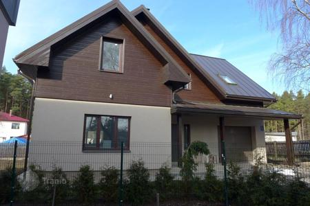 Property from developers for sale in Jurmalas pilseta. A family two storey house for sale in Jurmala. Floor area 218 sqm, land plot 700 sqm, fully finished and furnished house
