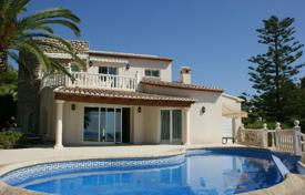 3 bedroom houses by the sea for sale in Spain. High class villa on the first line from the sea in Benissa, Alicante, Spain