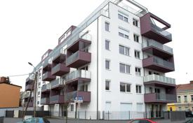 Property for sale in Austria. Two-bedroom penthouse in a new house with a parking, Floridsdorf district, Vienna
