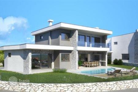 Off-plan houses for sale in Croatia. Modern villa on Krk island