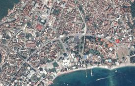 Coastal development land for sale in Budva (city). Land for property development in the center of Budva