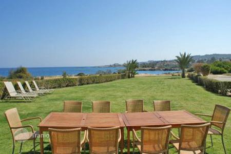 6 bedroom houses for sale in Famagusta. Six Bedroom Seafront Villa with Title Deed in Protaras