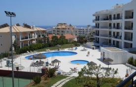 Apartments with pools by the sea for sale in Albufeira. Modern apartment with ocean views in a closed condominium, Albufeira, Portugal