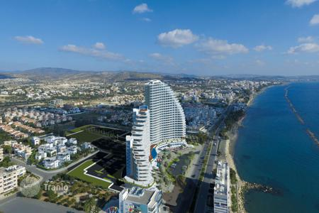 New homes for sale in Cyprus. New apartments in a residential complex on the sea, Limassol, Cyprus