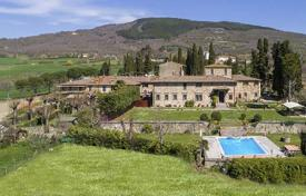 Luxury houses for sale in Florence. Historical villa of the XIV century with a park in Florence, Tuscany, Italy