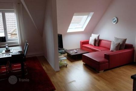 Cheap 1 bedroom apartments for sale in Central Europe. Modern apartment overlooking the old town of Baden-Baden