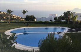 Apartments with pools for sale in Altea. Three-bedroom apartment with a sea view in Altea Hills, Alicante, Spain
