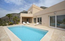 Houses for sale in Altea. Two-level villa with a pool and a garden in Altea, Alicante, Spain