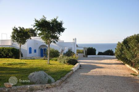 Residential for sale in Apulia. Wonderful villa with a view of the Ionian sea, Santa Maria di Leuca, Italy