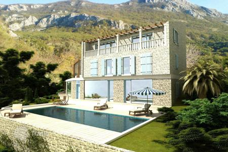 4 bedroom houses for sale in Budva. Exclusive villa in the village Kolachi, 10 minutes from Budva