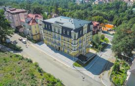 Apartments for sale in Karlovy Vary Region. Apartment in a new residential complex next to the park in the center of Marianske — Lazne
