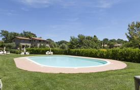Apartments with pools for sale in Tuscany. Residential building complex