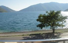 1 bedroom apartments for sale in Kotor (city). Three story building only 10 meters from the sea in area of Risan/Kotor municipality. There are 5 apartments all together.
