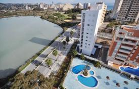 1 bedroom apartments for sale in Spain. Fully furnished apartment in complex with swimming pool and sea views and a pond, Calp, Alicante